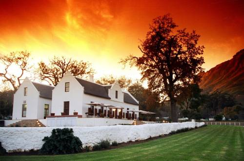Zorgvliet Wines Country Lodge