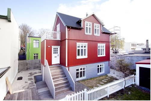 A Part of Reykjavik Bergstadarstraeti Apartments