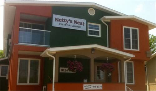Netty's Nest Visitor Lodge