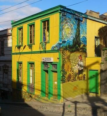 Girasoles de Valparaíso