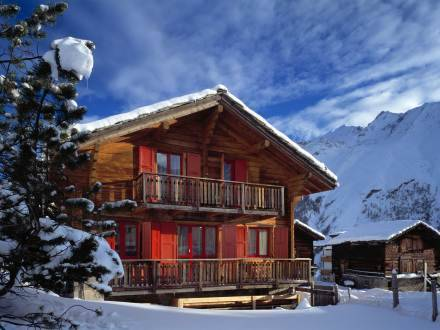 Holiday Home Riti II Saas Fee